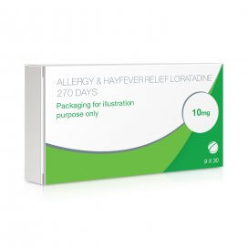 Allergy & Hayfever Relief Tablets Loratadine x9