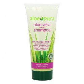 Aloe Pura Aloe Vera Herbal Shampoo Dry/ Damaged