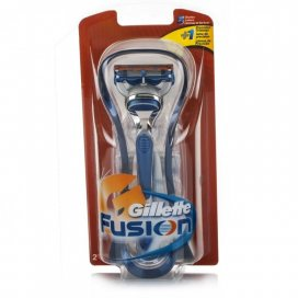 Gillette Fusion Razor with Two Cartridges