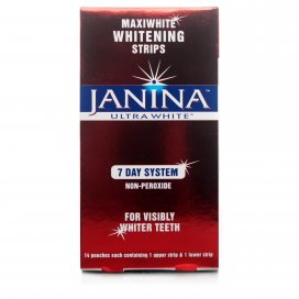 Janina Maxiwhite Ultra White Strips 7 Day System