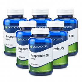 Bioconcepts Peppermint Oil 50mg Capsules