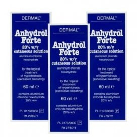 Anhydrol Forte Roll On 20% w/v Cutaneous Solution Triple Pack