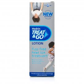 Hedrin Treat & Go Head Lice Lotion