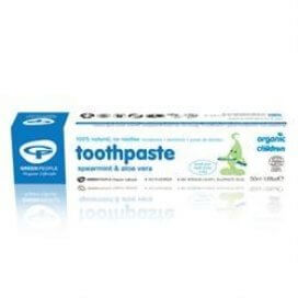Green People Childrens Spearmint Toothpaste