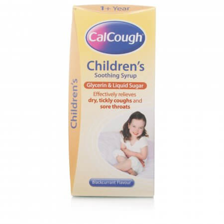 Calcough Childrens Soothing Syrup Blackcurrant Flavour