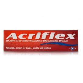 Acriflex Antiseptic Burns Cream