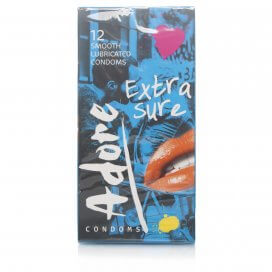 Adore Extra Sure Condoms