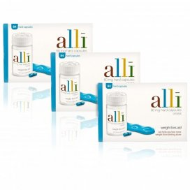 Alli Capsules 84 Triple Pack