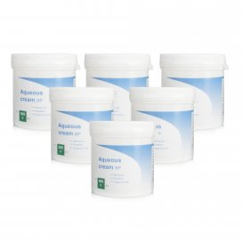Aqueous Cream BP 6 Pack