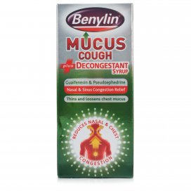 Benylin Mucus Cough Plus Decongestant Syrup