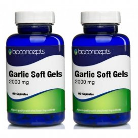 Bioconcepts Odourless Garlic 2000mg Twin Pack
