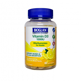 Bioglan Adult Vitagummies Vitamin D3 1000iu