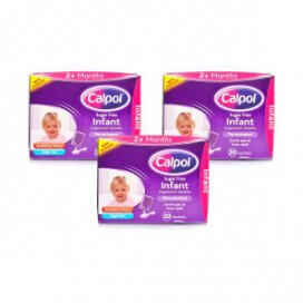 Calpol Sugar Free Infant Suspension Sachets Multipack 3x20 Sachets