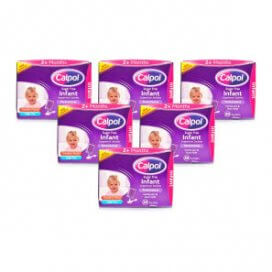 Calpol Sugar Free Infant Suspension Sachets Multipack 6x20 Sachets