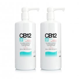 CB12 Safe Breath Mild Mint 1L Twinpack