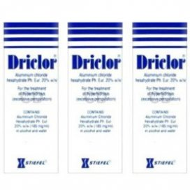 Driclor Roll-On Triple Pack