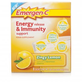 Emergen C Energy Release & Immunity Support Lemon