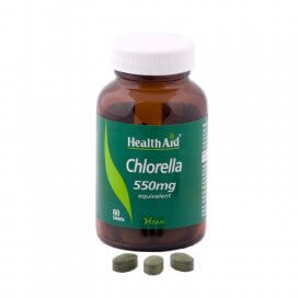 HealthAid Chlorella 550mg Tablets