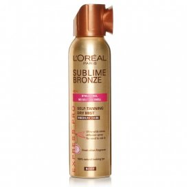 LOreal Paris Sublime Self-Tan Body Mist Medium