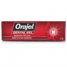 Orajel Regular Strength Dental Gel