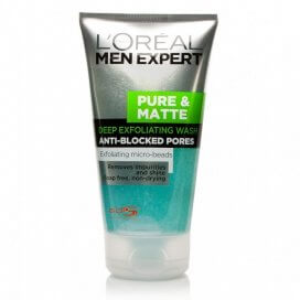 LOreal Paris Men Expert Pure & Matte Scrub Face Wash