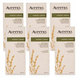 Aveeno Cream 6 Pack