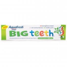 Aquafresh Big Teeth Toothpaste 6+ Years