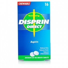 Disprin Direct Chewable Aspirin