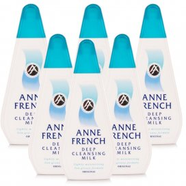 Anne French Deep Cleansing Milk 6 Pack