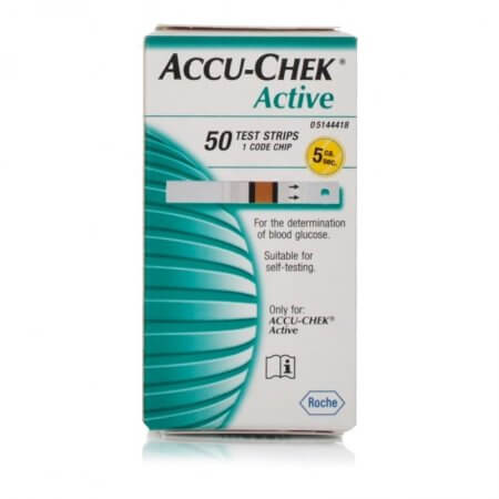 Accu-Chek Active Glucose Test Strips
