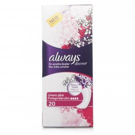 Always Discreet Liners Plus