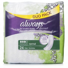 Always Discreet Normal Pads Value Pack