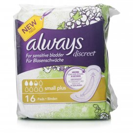 Always Discreet Small Plus Pads