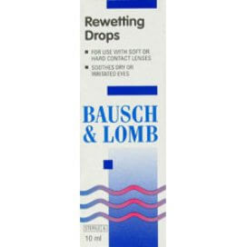 Bausch & Lomb Re-Wetting Drops