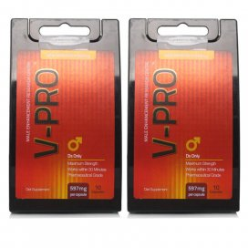 V-Pro 597mg Capsules Twin Pack